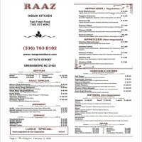 Try Raaz Indian Kitchen tonight!